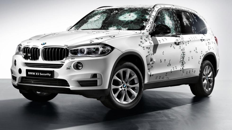 BMW X5 Security Plus - disparos