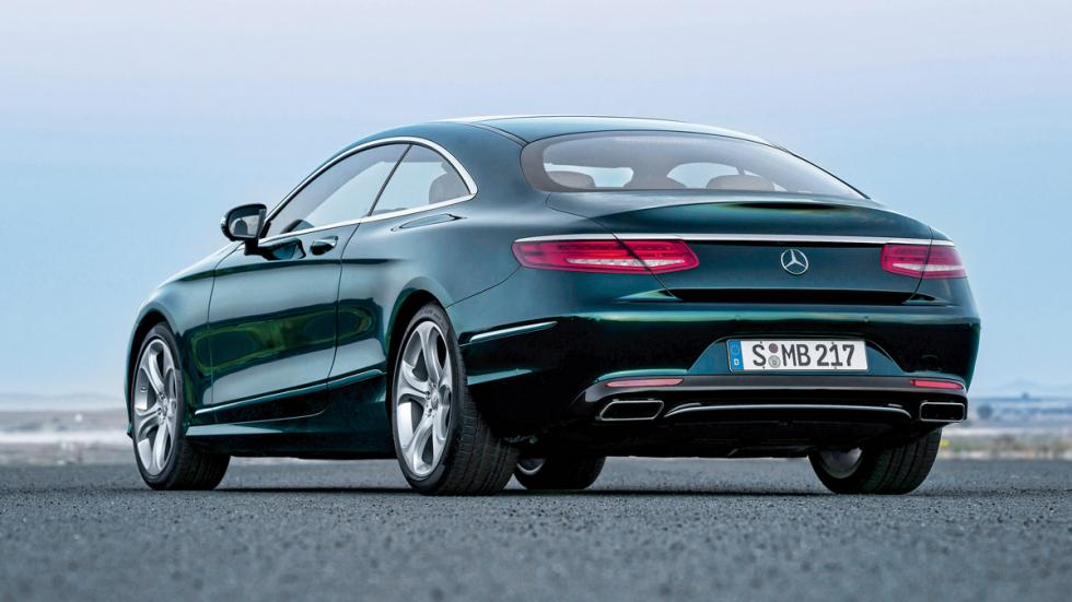 Mercedes S 500 Coupe trasera
