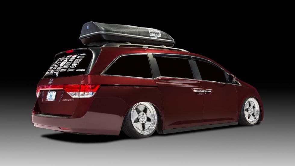 Honda Odyssey trasera