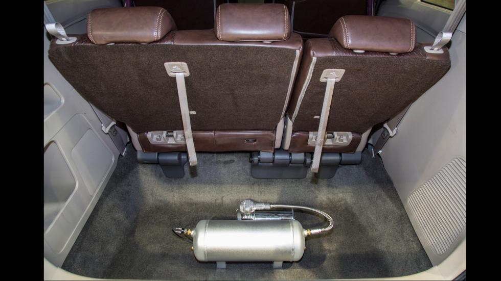 Honda Odyssey maletero