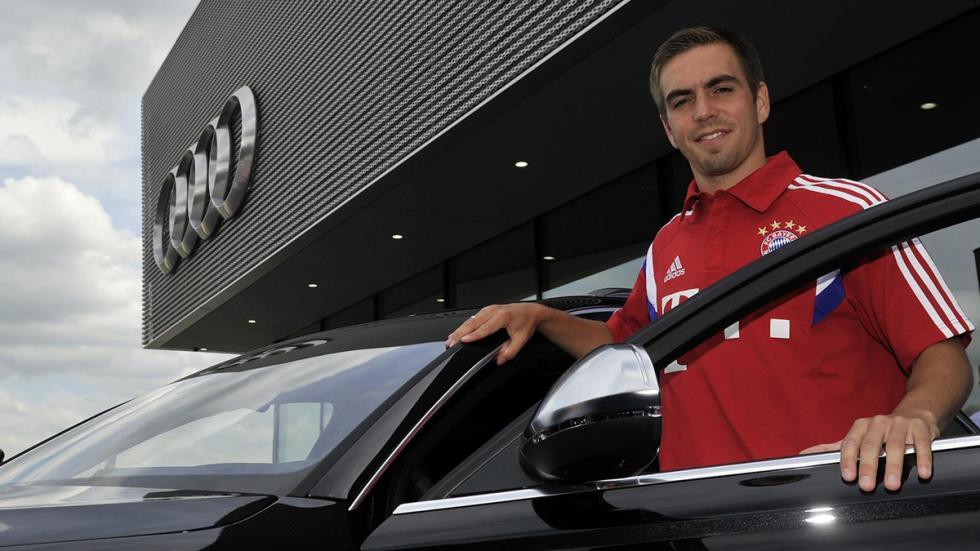 Jugadores Bayern de Múnich coches Audi Philipp Lahm
