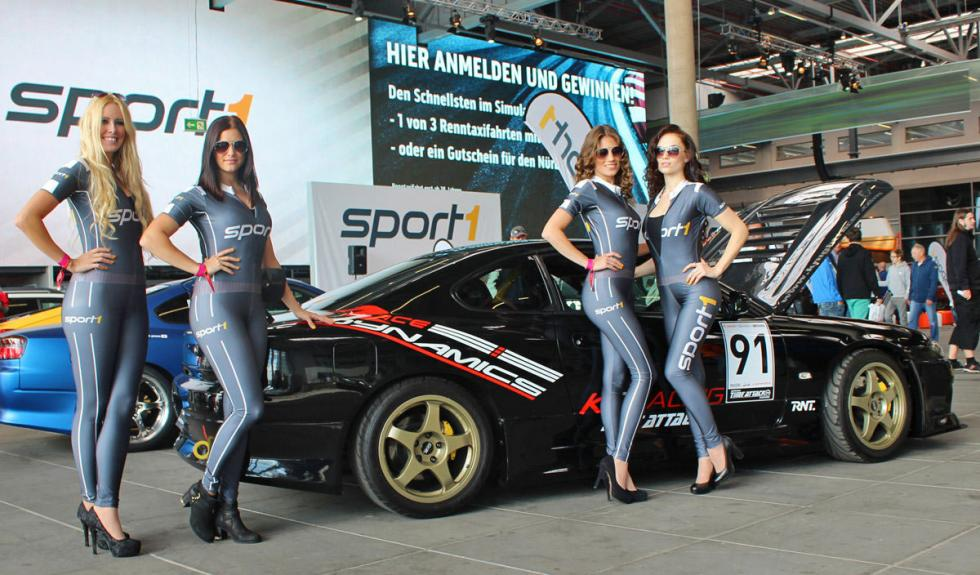 Las chicas del Drift-Challenge 2014