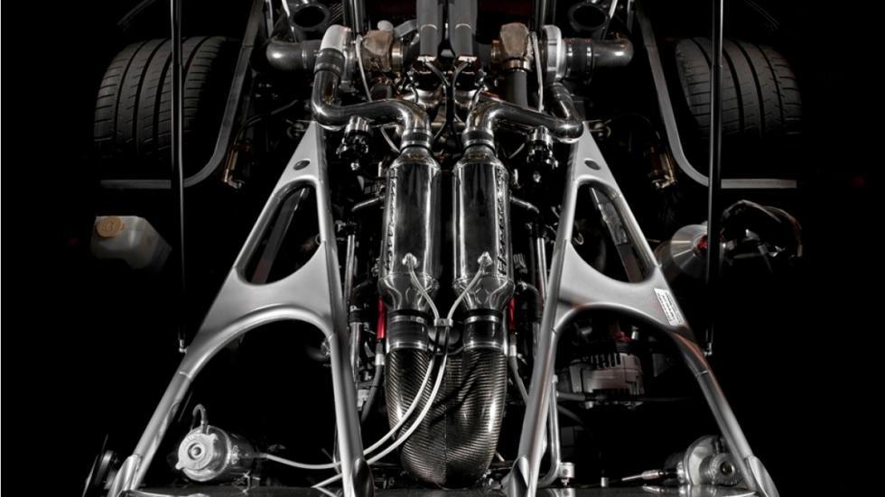 Motor del Hennessey Venom GT Spyder