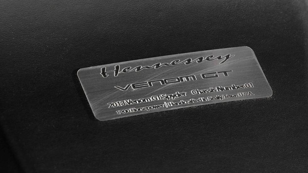 Edición limitada del Hennessey Venom GT Spyder