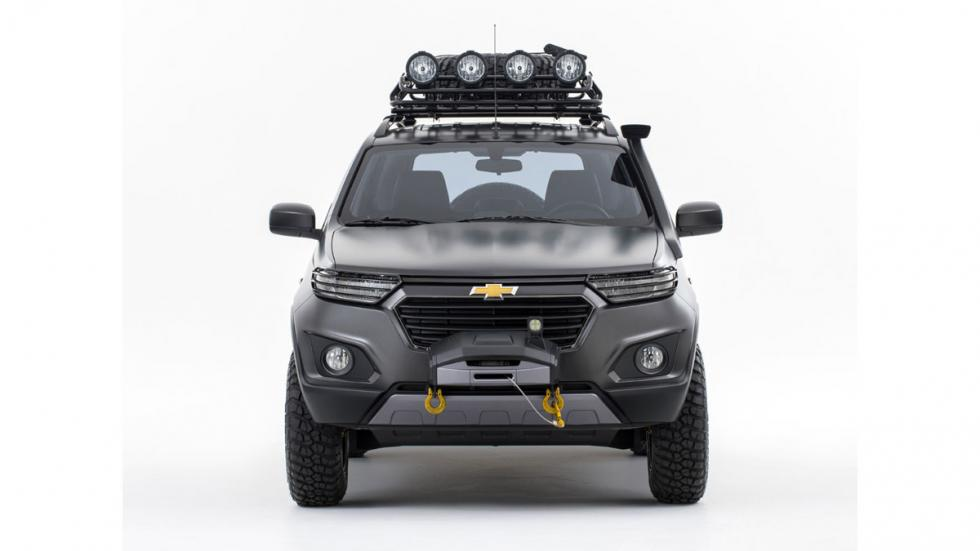 Chevrolet Niva Concept frontal