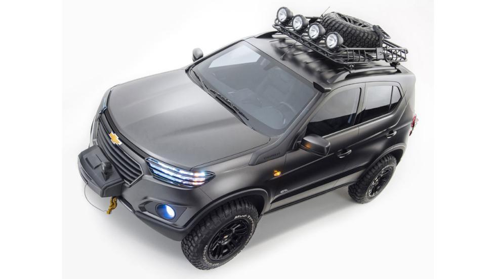 Chevrolet Niva Concept cenital