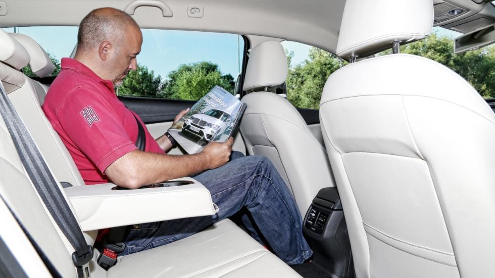Seat León ST 4Drive 2.0 TDI 150 CV Style plazas traseras