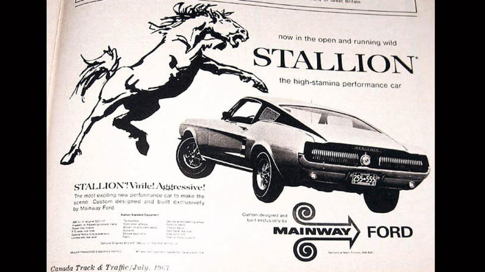 Ford Mustang edición especial Stallion