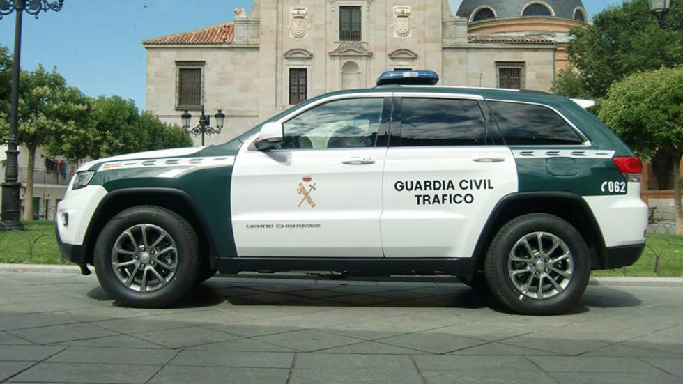 Jeep Grand Cherokee Guardia Civil lateral