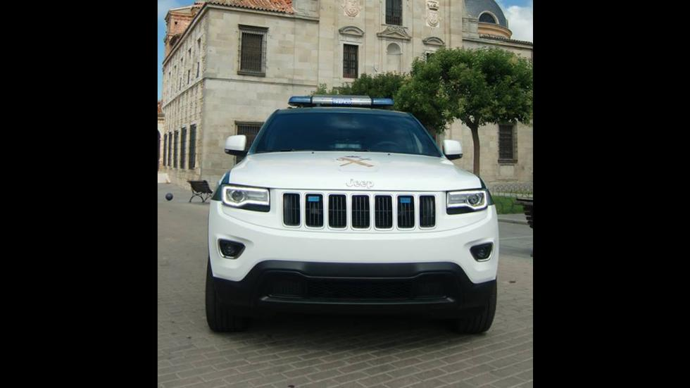 Jeep Grand Cherokee Guardia Civil frontal
