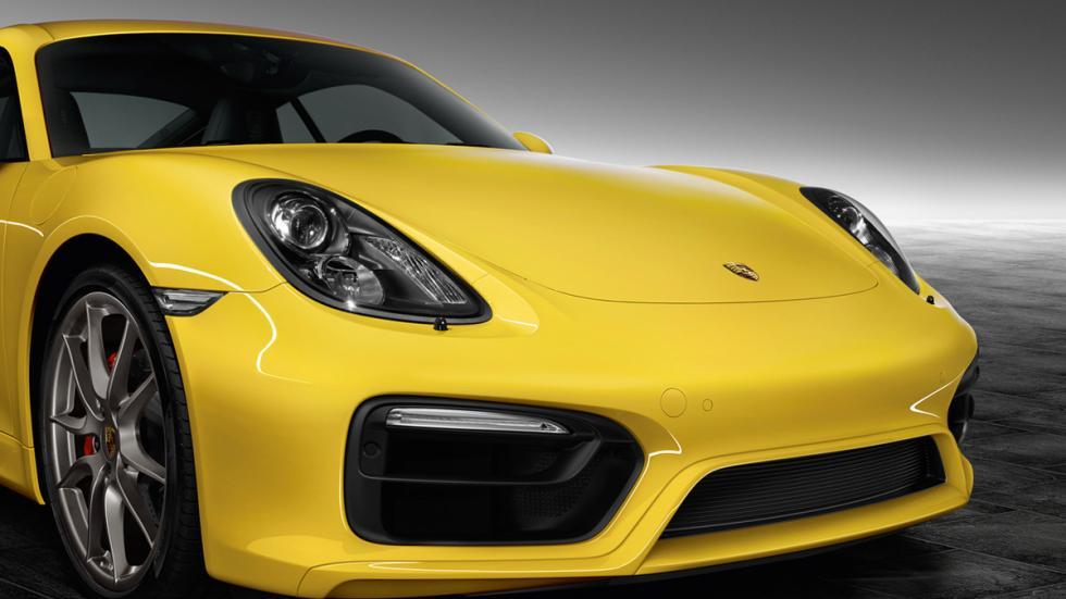 Porsche Cayman S Yellow Racing ruedas