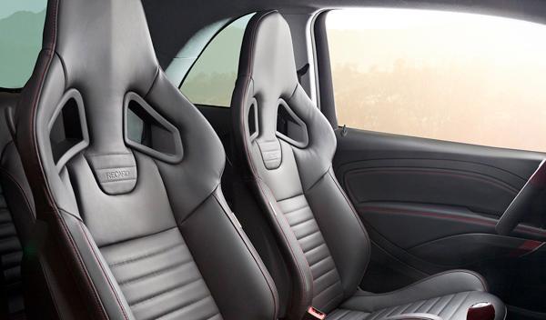 Opel Adam S asientos