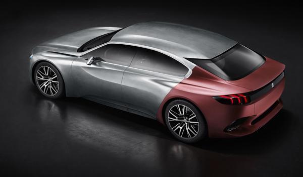 Peugeot Exalt vista superior