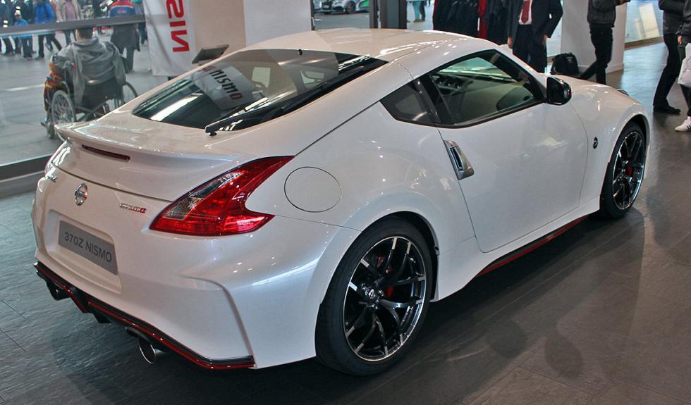 Nissan 370Z Nismo zaga