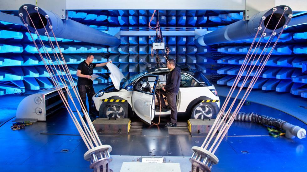 El Opel Adam Rocks ofreció unos sorprendentes resultados en acústica