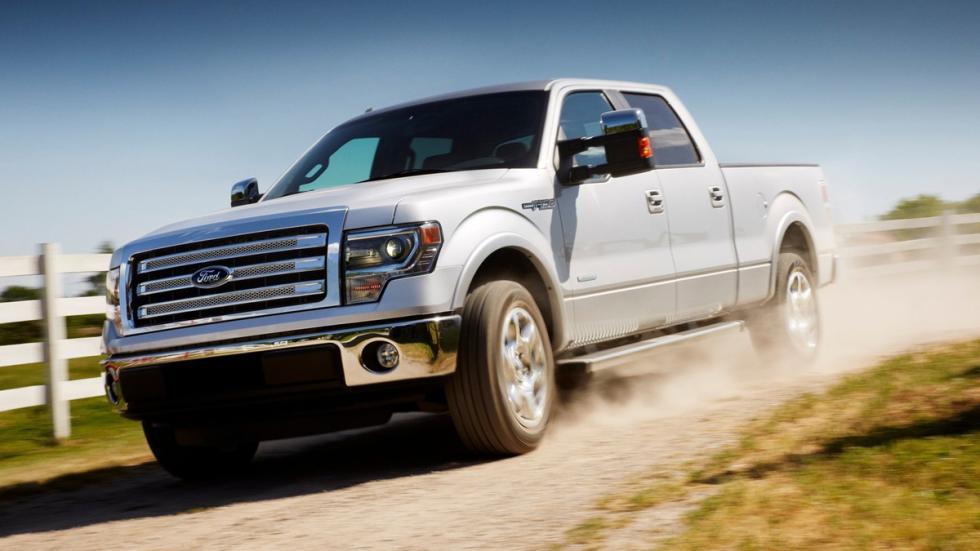 10 coches más vendidos Estados Unidos 2014 Ford F-150