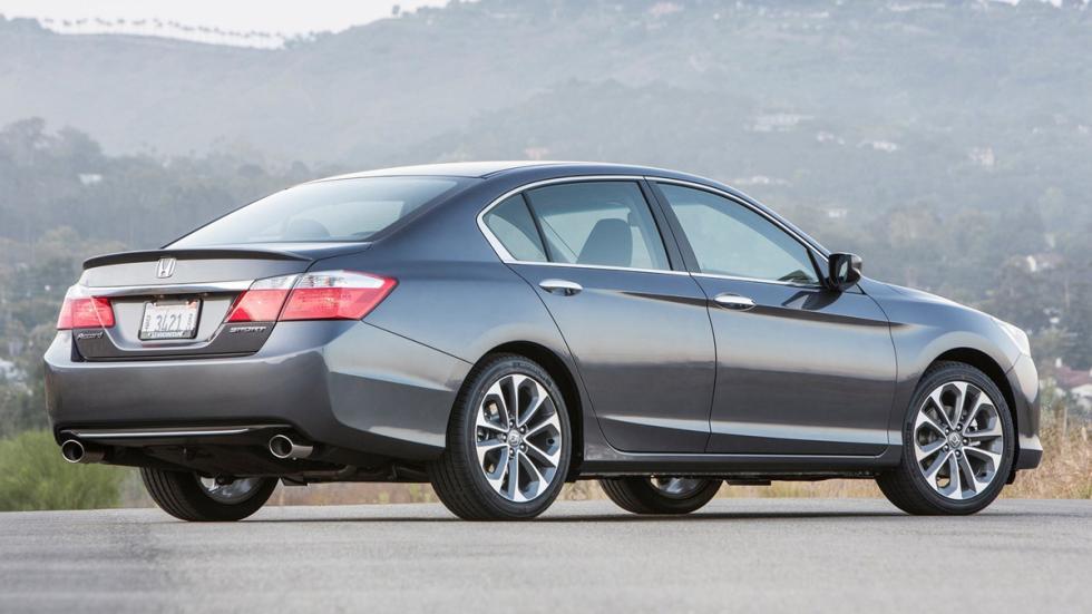 10 coches más vendidos Estados Unidos 2014 Honda Accord