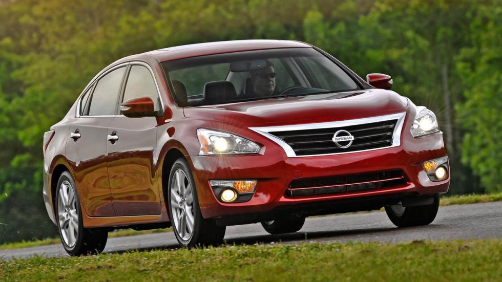 10 coches más vendidos Estados Unidos 2014 Nissan Altima