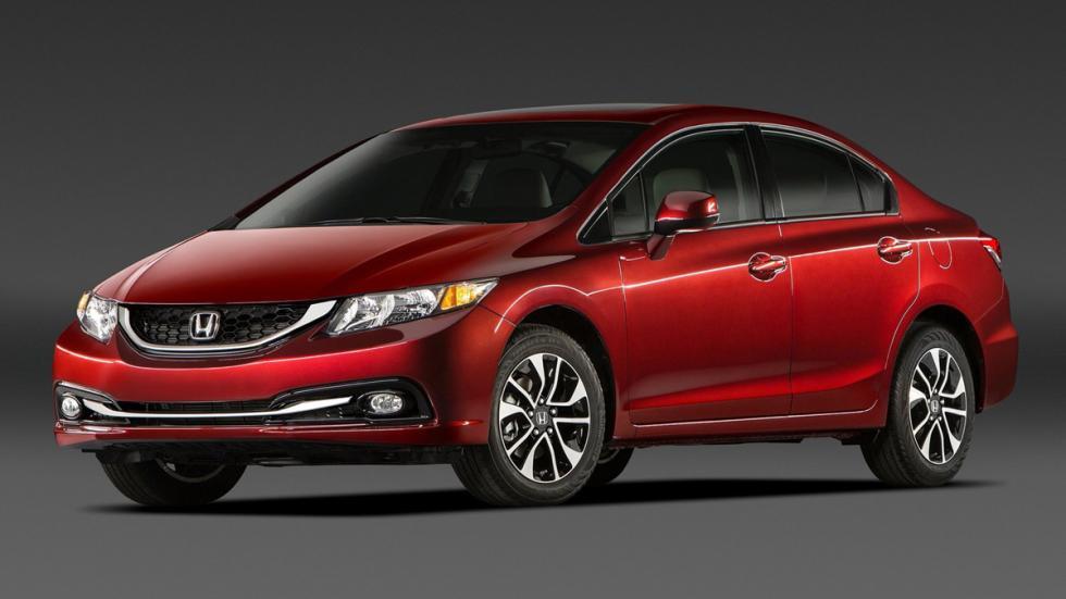 10 coches más vendidos Estados Unidos 2014 Honda Civic