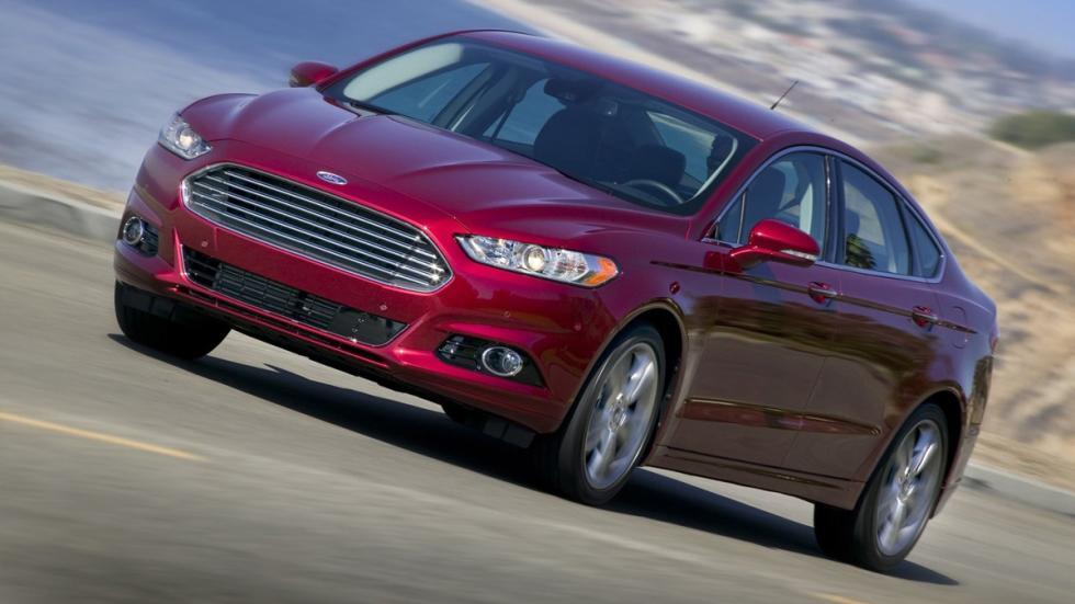 10 coches más vendidos Estados Unidos 2014 Ford Fusion