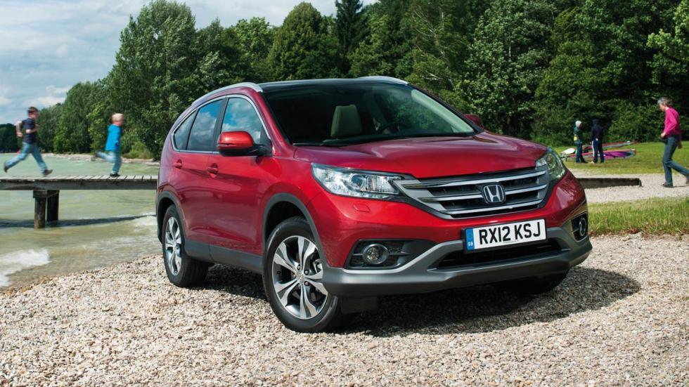 10 coches más vendidos Estados Unidos 2014 Honda CR-V