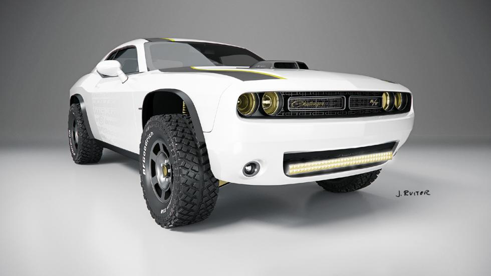 Dodge Challenger A/T Untamed frontal