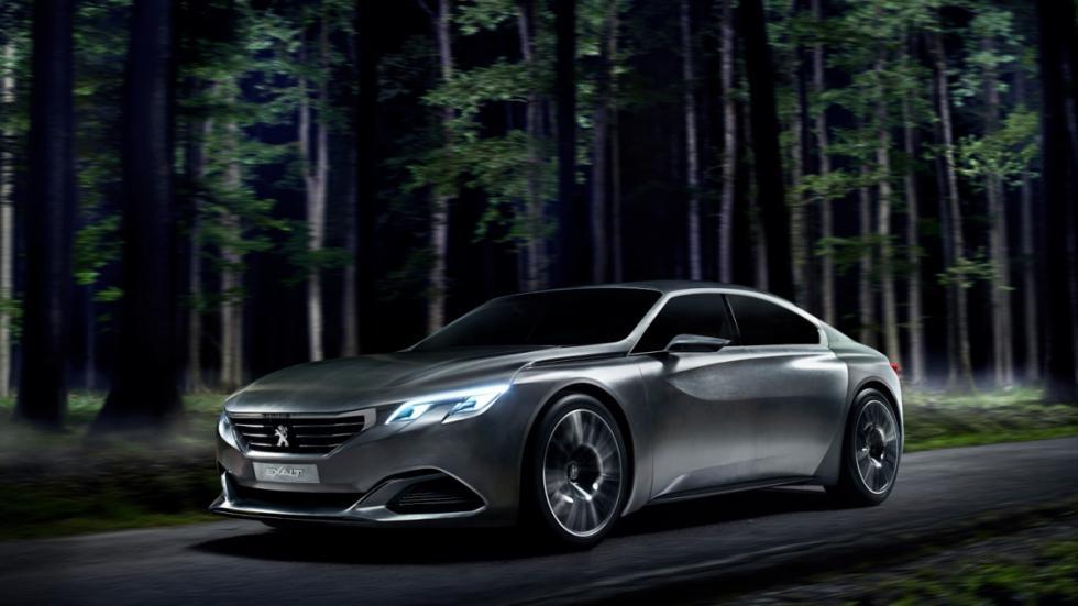 Concept Peugeot Exalt lateral