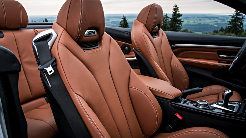 Asientos del BMW M4 Cabrio