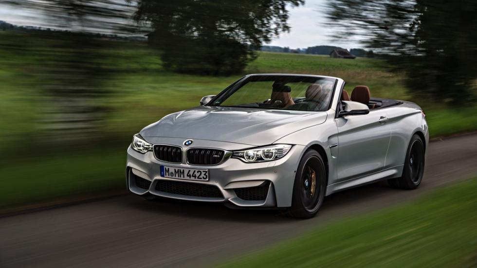 frontal del BMW M4 Cabrio