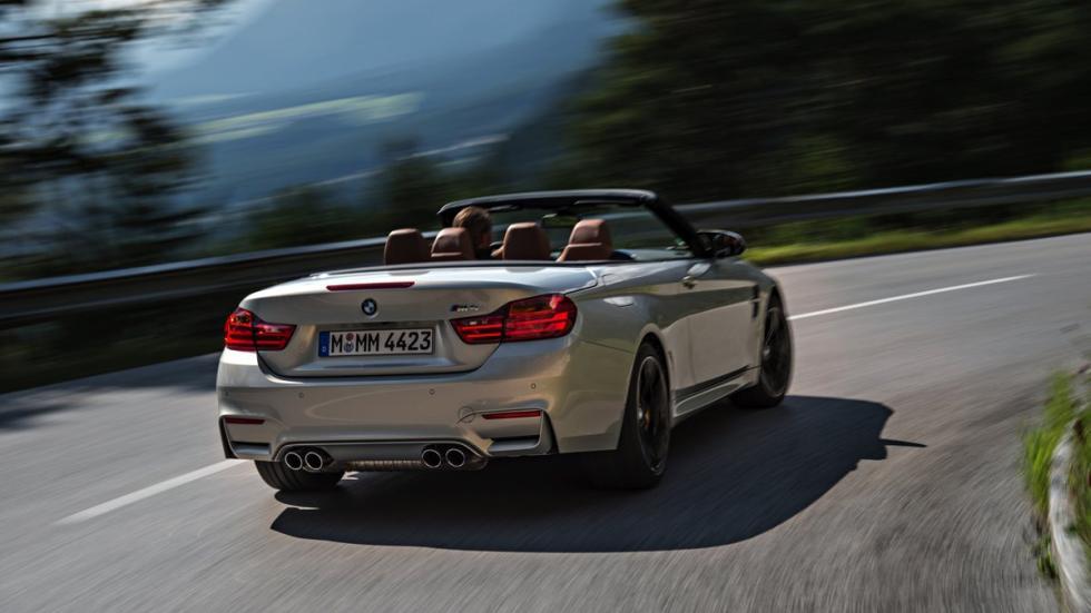 Trasera del BMW M4 Cabrio