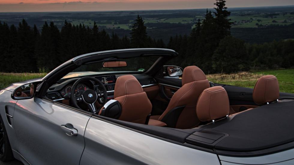 Habitáculo del BMW M4 Cabrio