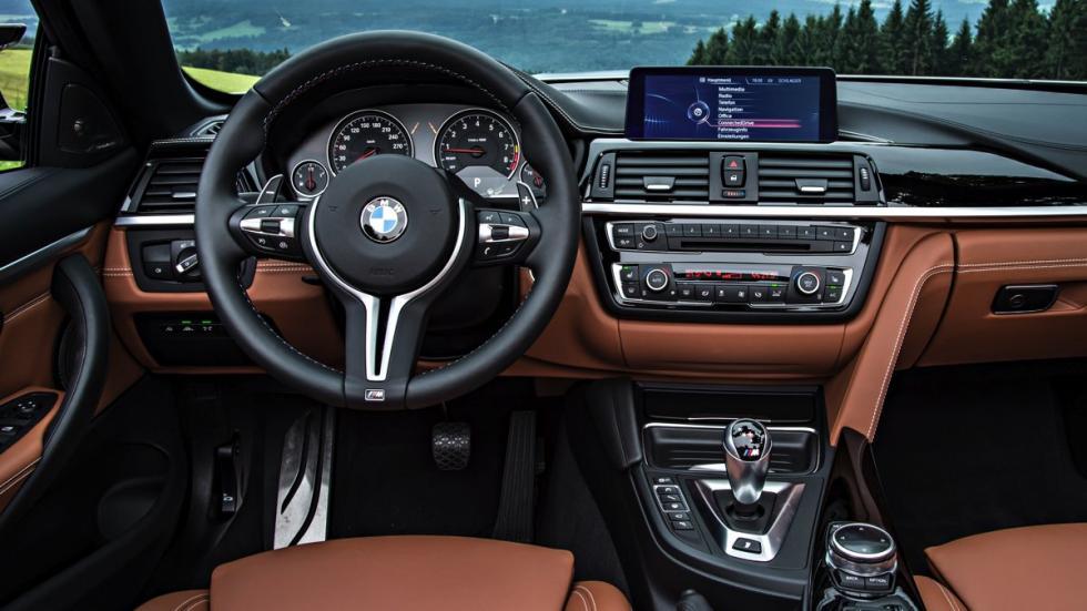 Salpicadero del BMW M4 Cabrio