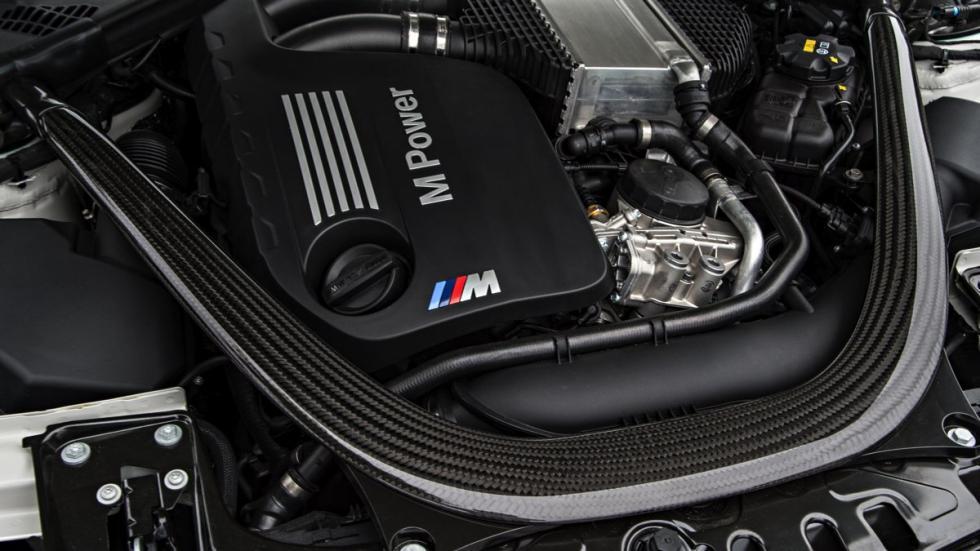 Motor del BMW M4 Cabrio