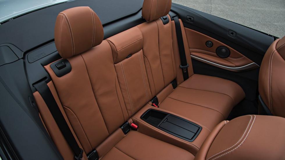Plzas traseras del BMW M4 Cabrio