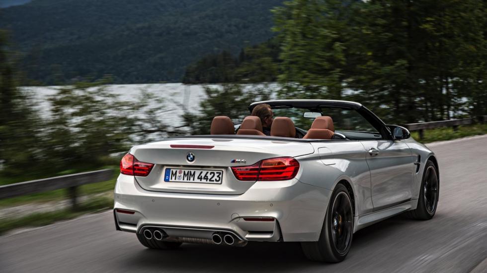 BMW M4 Cabrio en curva