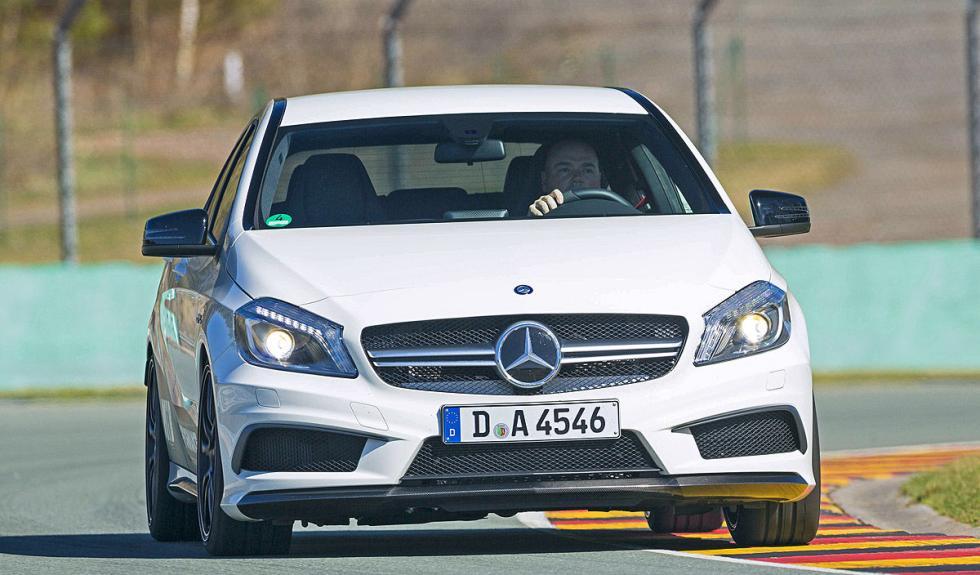 MTB Mercedes A45 AMG