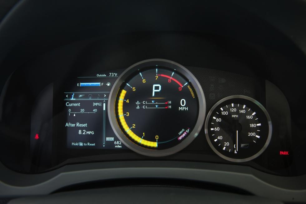 Lexus RC F relojes