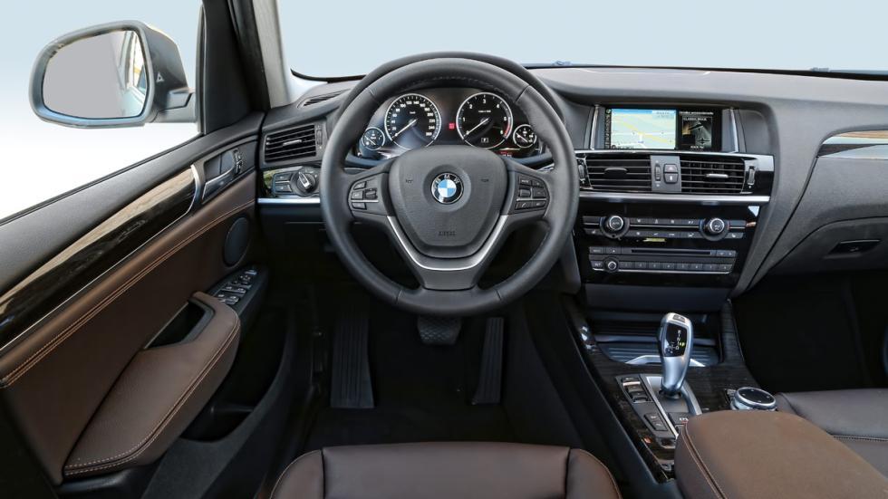 BMW X3 20d xDrive salpicadero