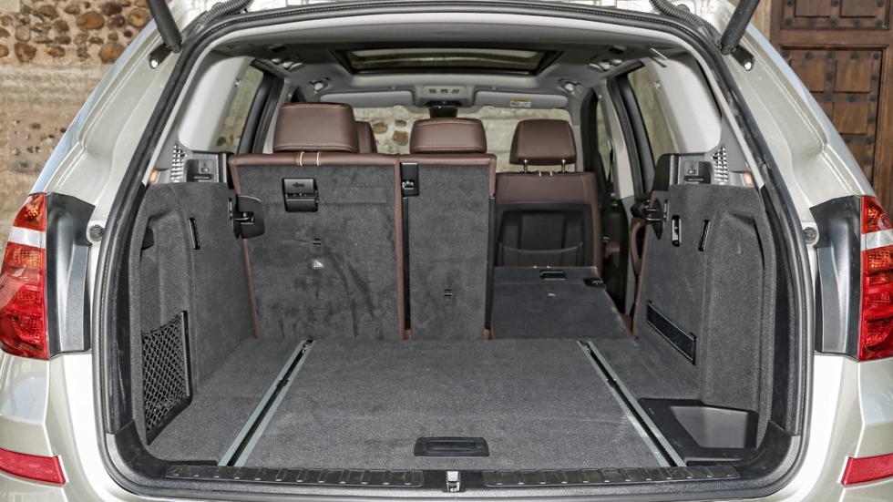 BMW X3 20d xDrive maletero