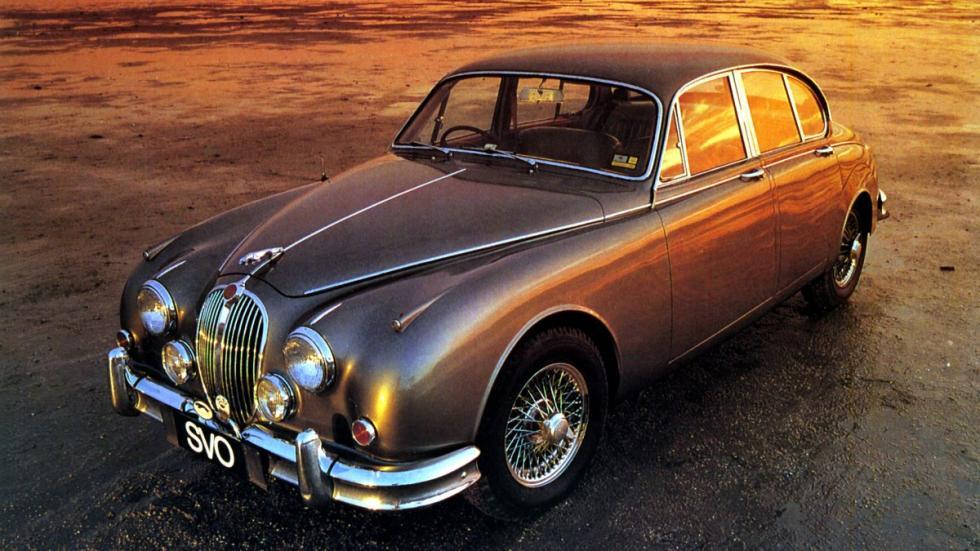 Jaguar MK2 de 1959 lateral