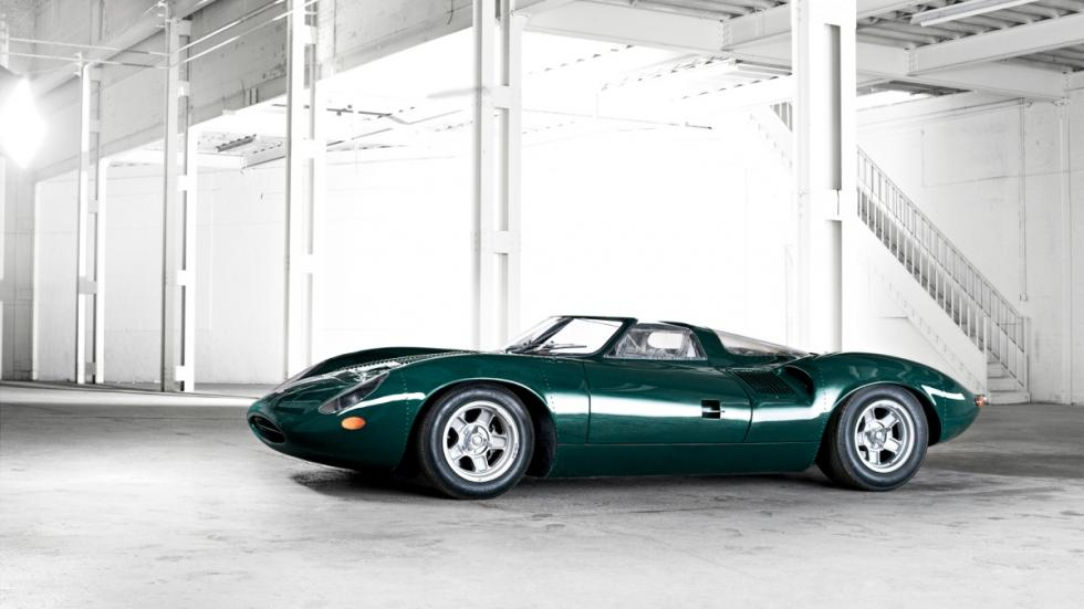 Jaguar XJ13 de 1966 lateral