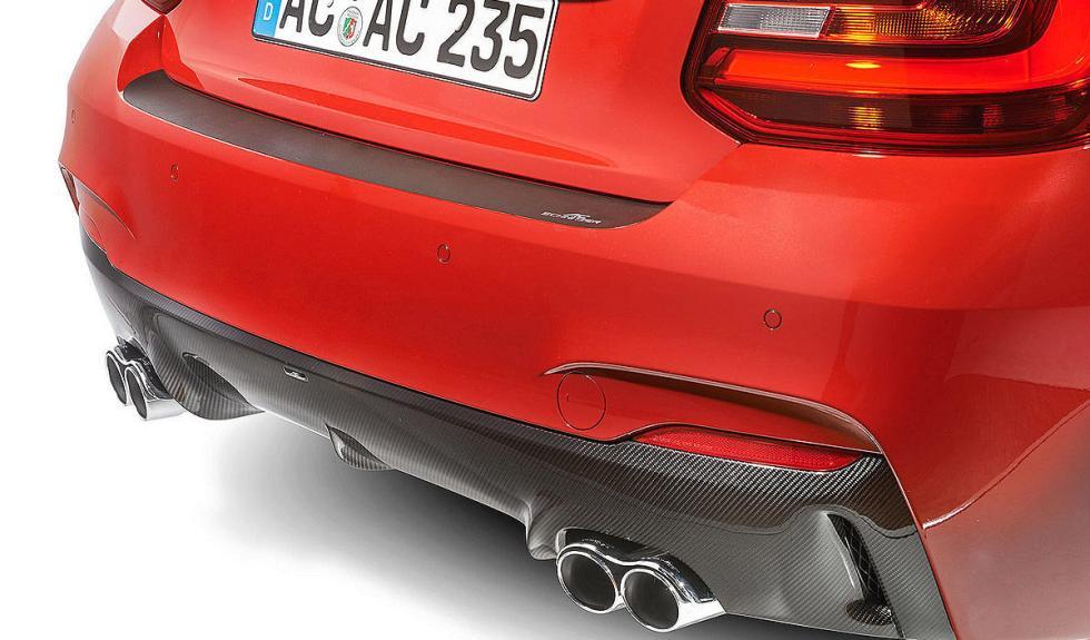 BMW Serie 2 AC Schnitzer detalle escapes