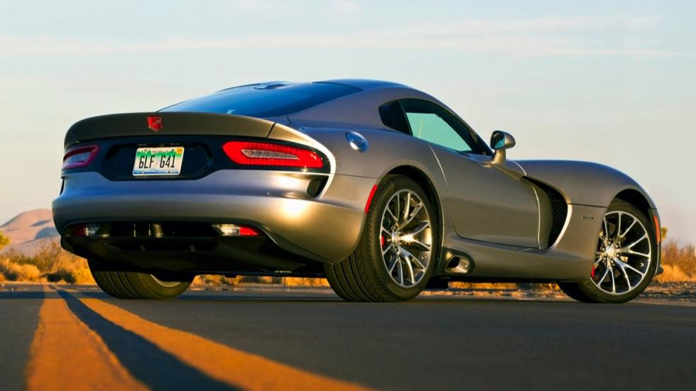 Dodge Viper SRT 2015 Gunmetal trasera