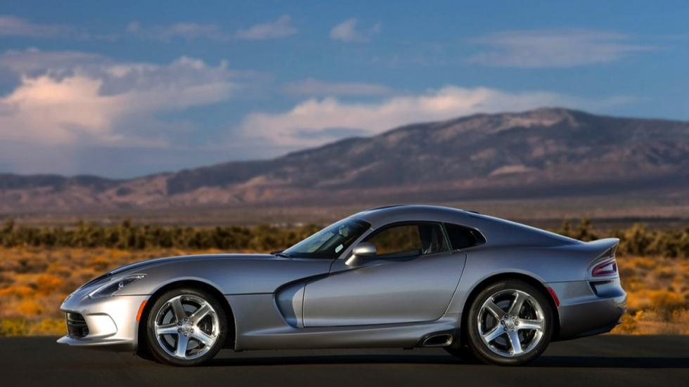 Dodge Viper SRT 2015 Gunmetal lateral