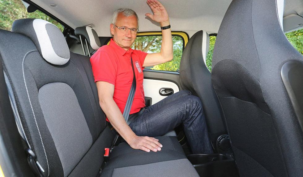 Nuevo Renault Twingo plazas traseras