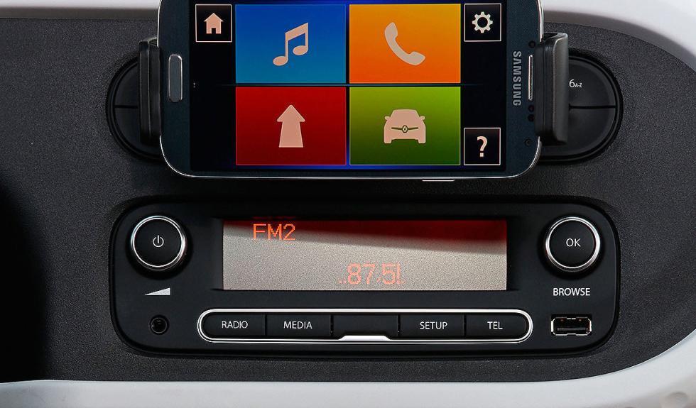 Nuevo Renault Twingo multimedia