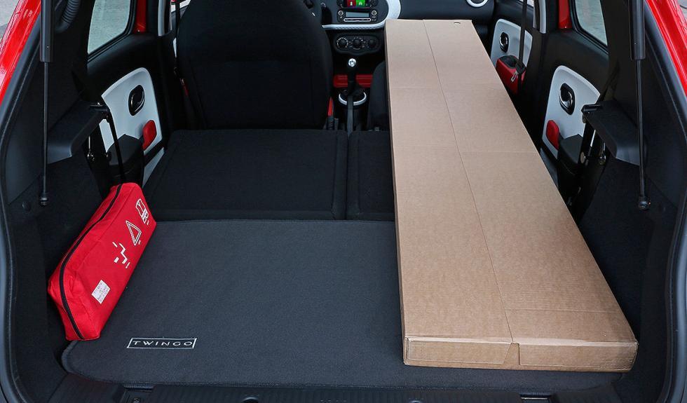 Nuevo Renault Twingo carga