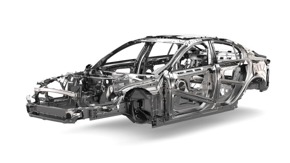 Jaguar XE aluminio