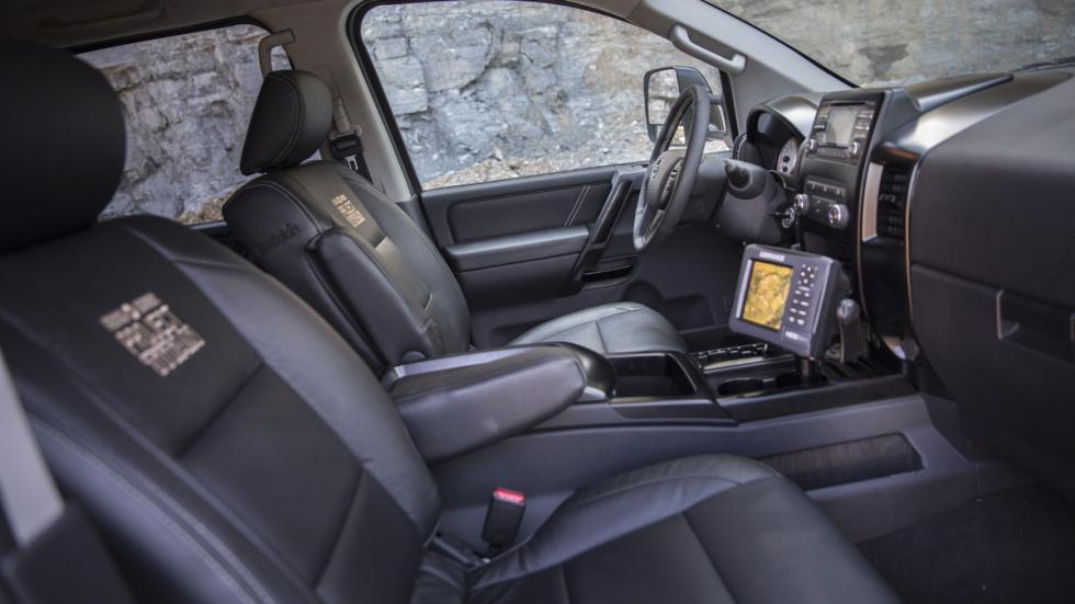 Nissan Project Titan interior