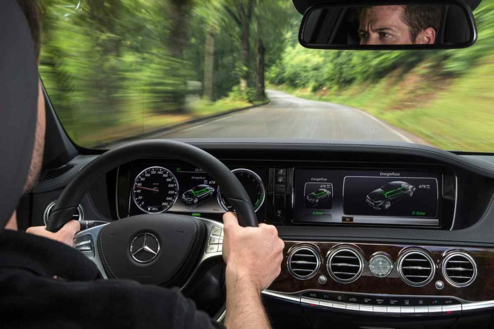 Mercedes S 500 Plug-In Hybrid interior